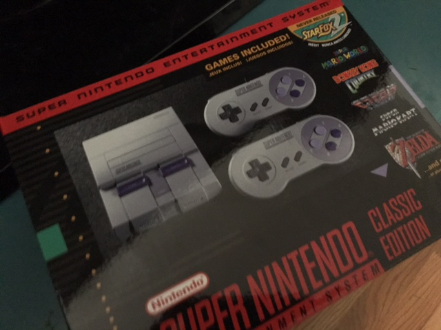 Some Super NES Classic thoughts